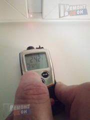 Температура рамы с новым п/п